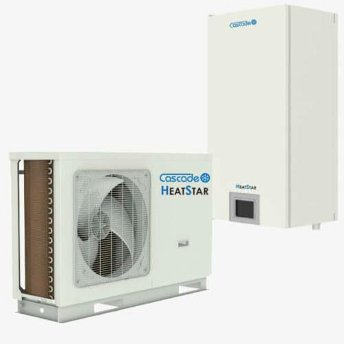 Cascade HeatStar osztott levegő-víz hőszivattyú 5 kW, 1 fázis