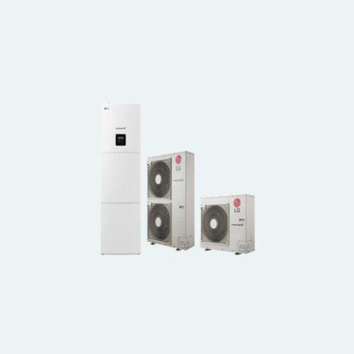 LG Therma V osztott integrált HMV típusú levegő-víz hőszivattyú 9 kW, 1 fázis